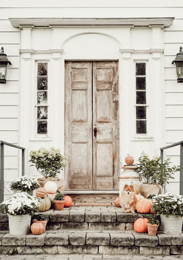 Fall Farmhouse Front Porch Inspiration