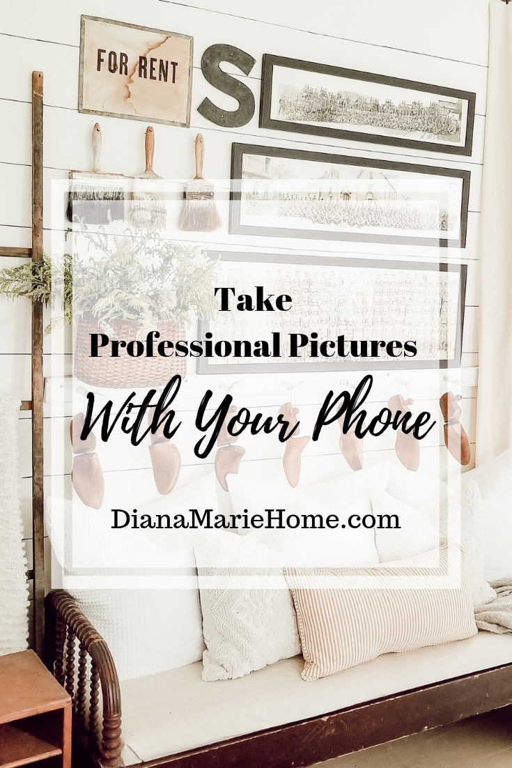 Professional photos with your phone for instagram