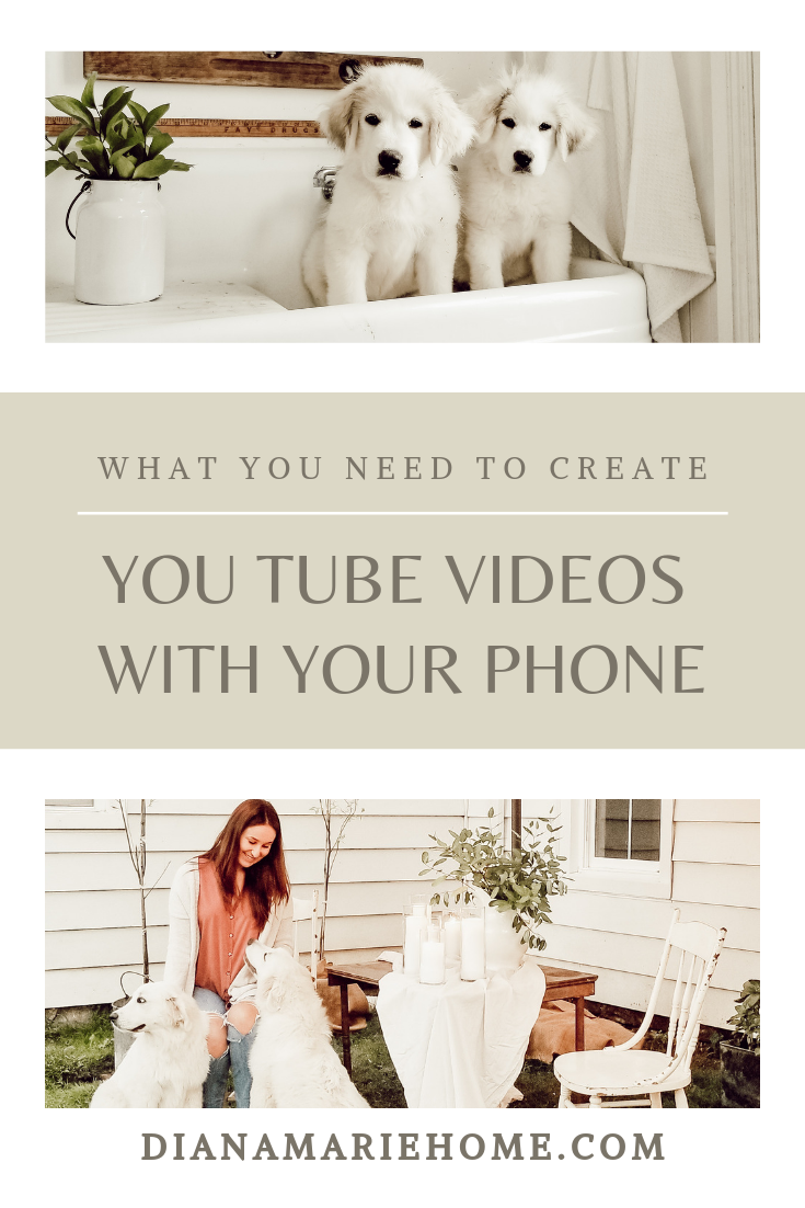 create you tube videos with your phone
