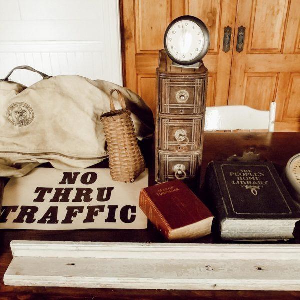 Farmhouse Estate Sale Haul Antique Home Decor On A Budget