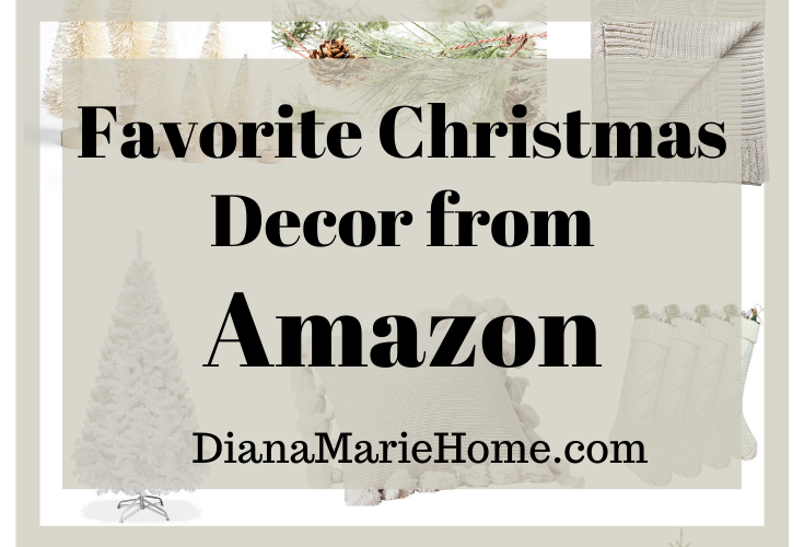 Favorite Christmas Decor from Amazon On a Budget
