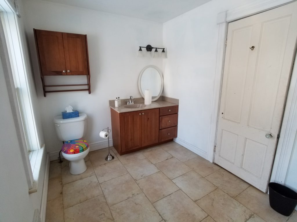 Farmhouse fixer upper bathroom powder room affordable diy