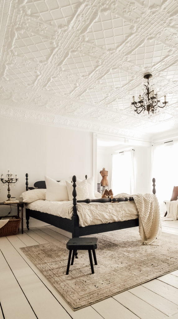 Victorian Farmhouse Cottage Master Bedroom Restoration Diana Marie Home