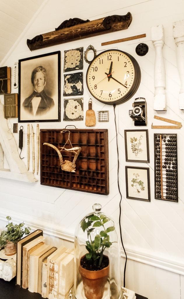 Diana Marie Home DIY Vintage Farmhouse Gallery Wall
