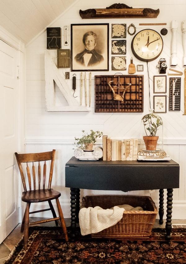 DIY Vintage Farmhouse Gallery Wall