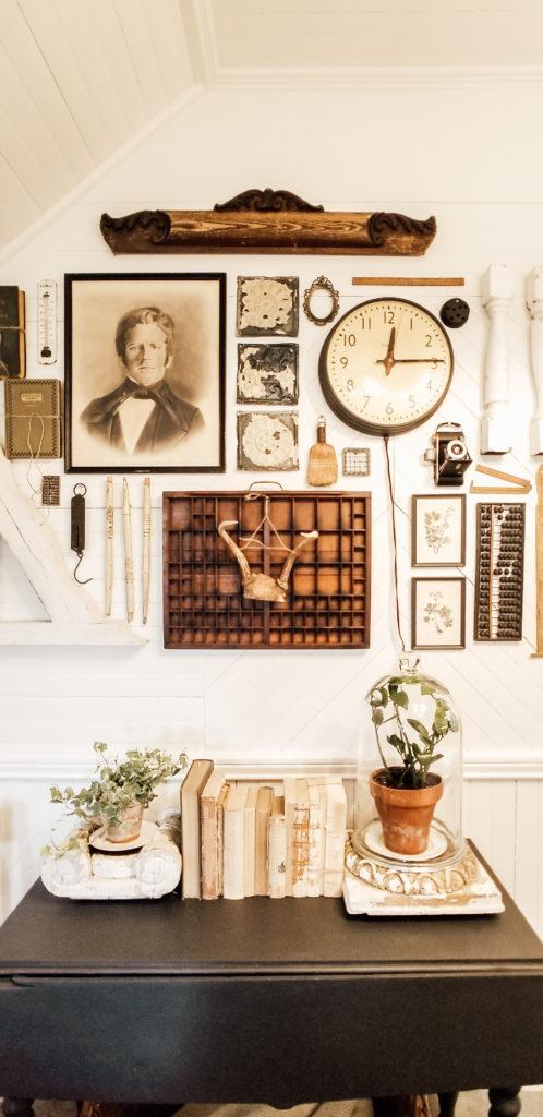 Diana Marie Home DIY Vintage Gallery Wall