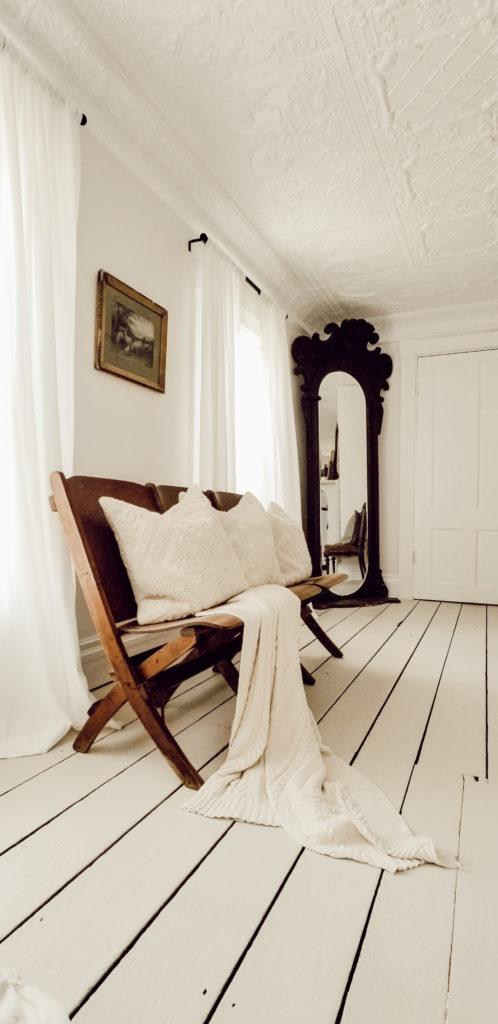 Victorian Farmhouse Master Bedroom