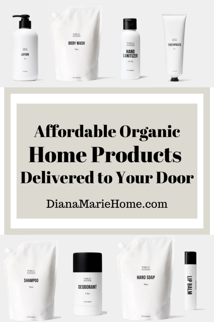 Organic Affordable Groceries & Home Products Delivered to your Door Diana Marie Home