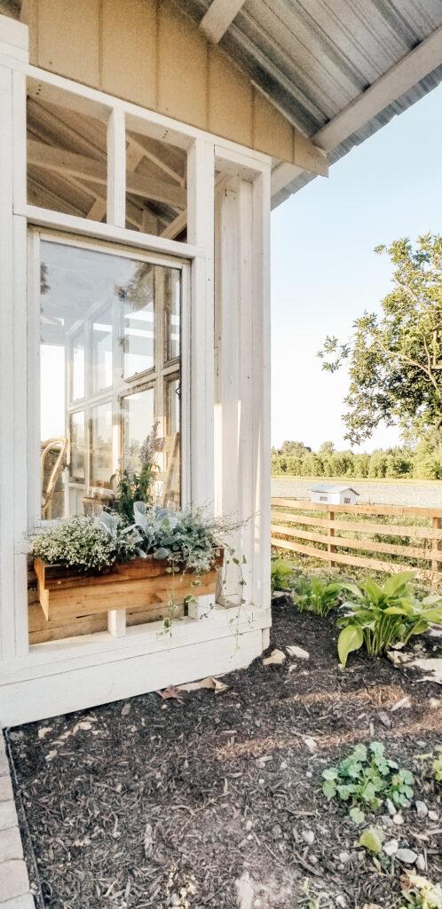 DIY Flower Box | Diana Marie Home
