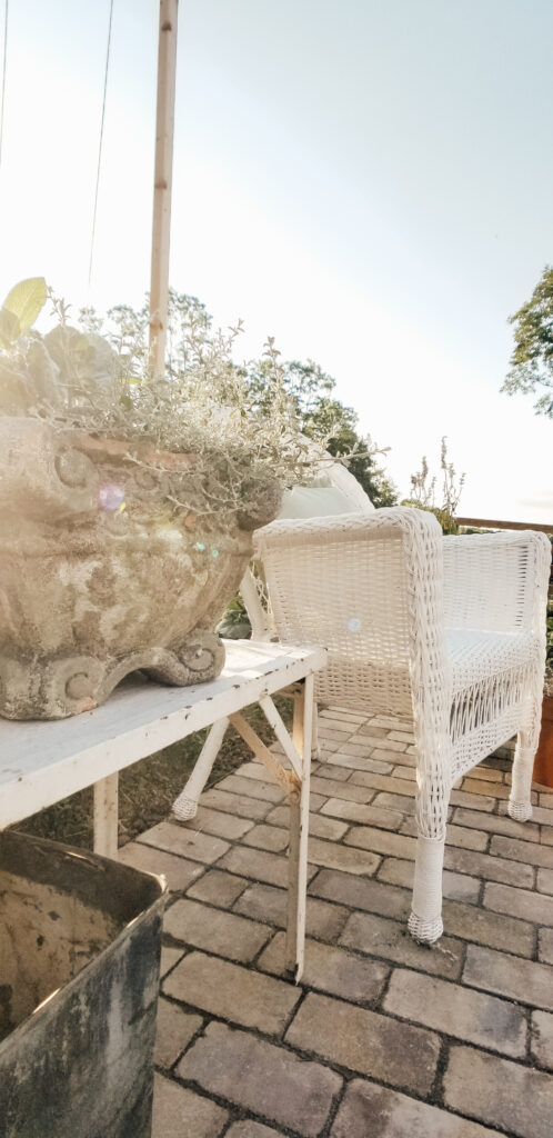 Outdoor Cottage Greenhouse | Diana Marie Home Patio
