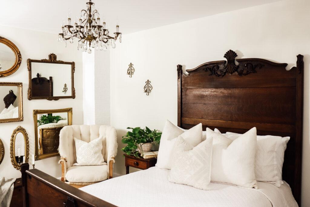 Farmhouse Cozy Guest Bedroom Restoration