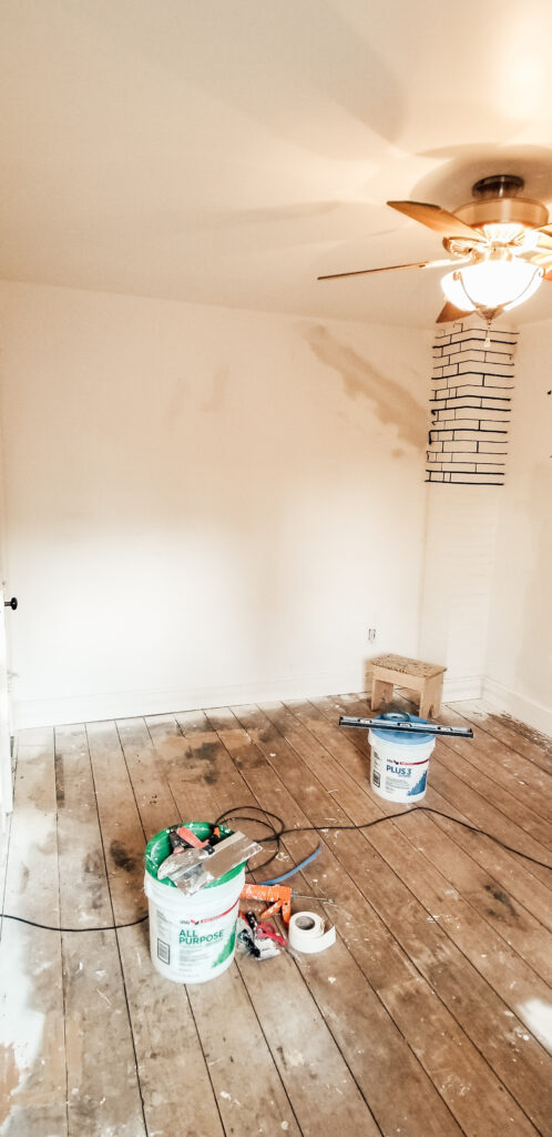 BEFORE: Farmhouse Guest Bedroom Restoration