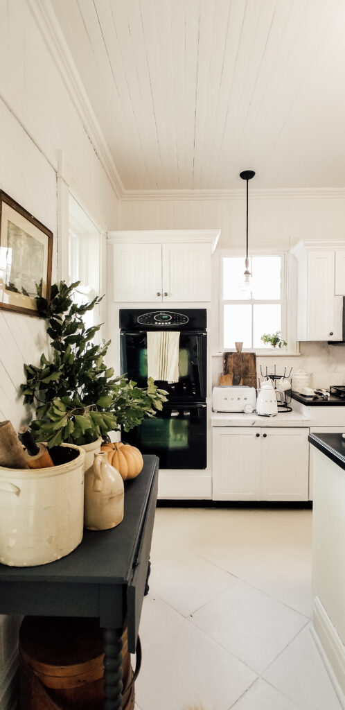 Fall Farmhouse Kitchen