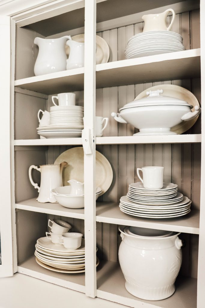 How to find antique ironstone on a budget