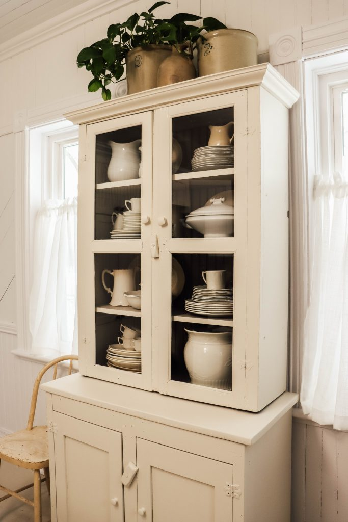 Antique Farmhouse Cabinet Transformation