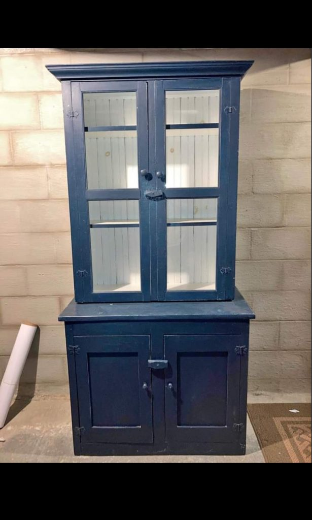 Before: Farmhouse Style Cabinet