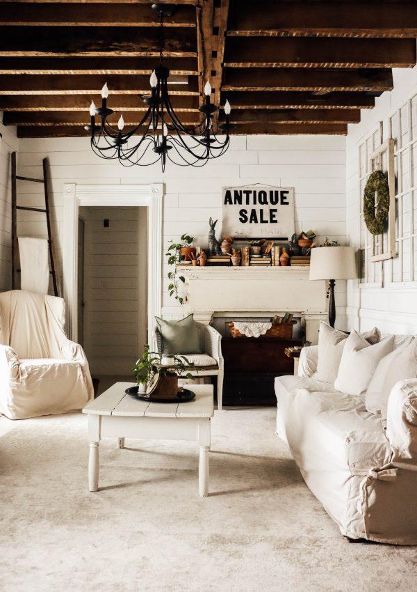 Spring Living Room