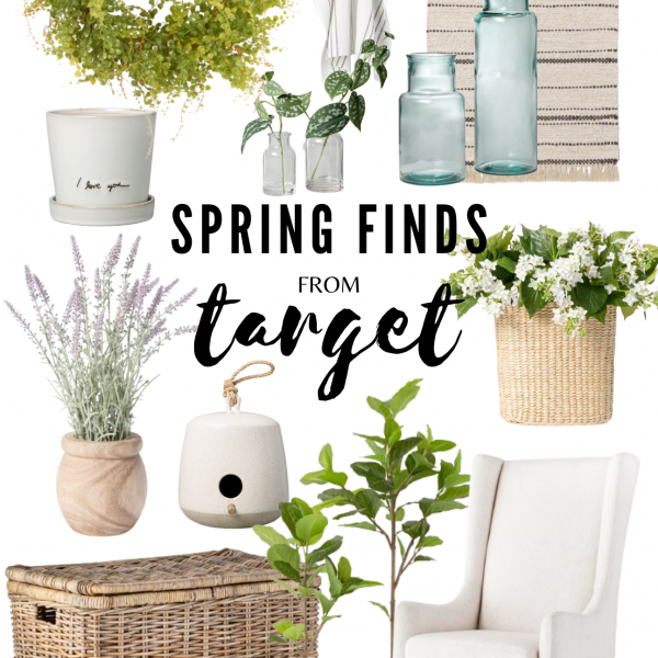 Affordable Neutral Cottage Farmhouse Spring finds from Target