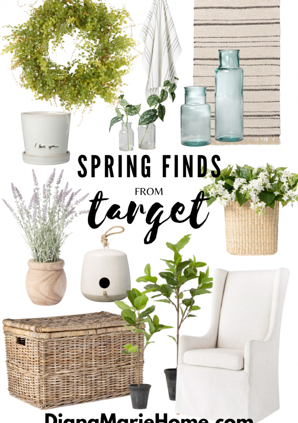 Spring Finds from Target | Neutral Cottage Farmhouse