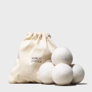 Organic affordable wool dryer balls
